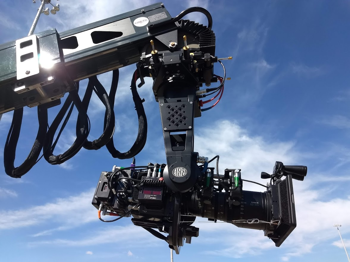 ARRI SRH-3 Stabilized Head  on Technocrane 22