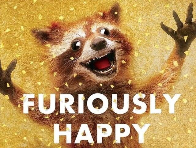 "Furiously Happy "" by  Jenny Lawson"