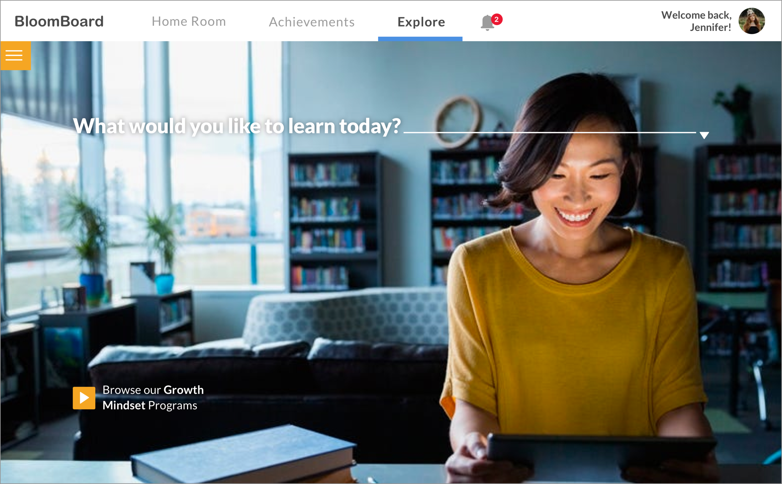 Explore Page redesign