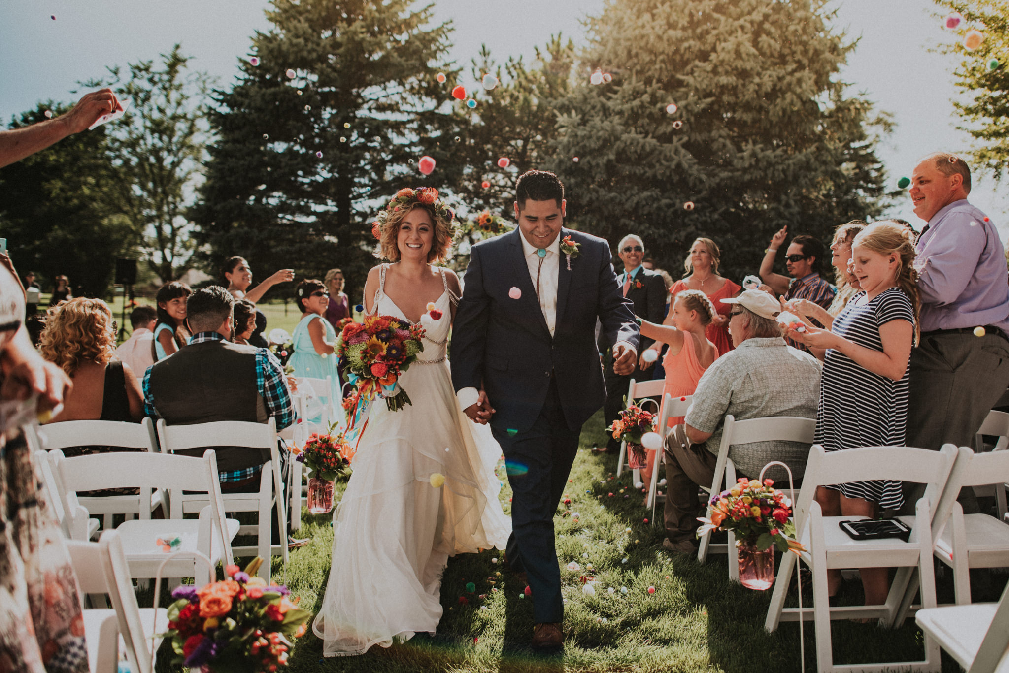 Fiesta Backyard Wedding