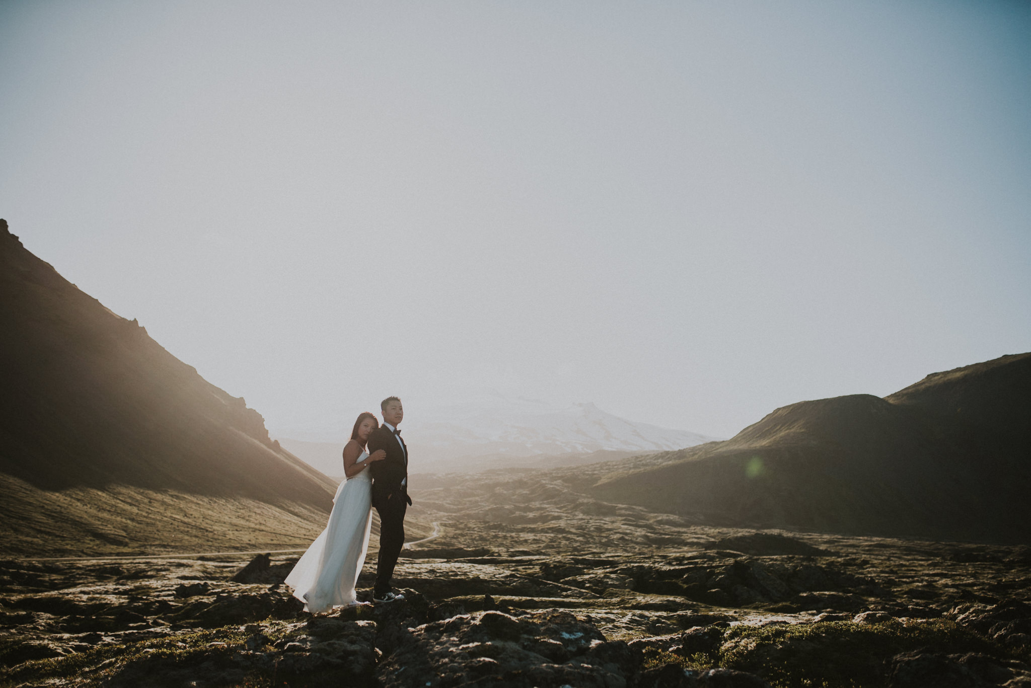 An Iceland Red Sand Beach Elopement