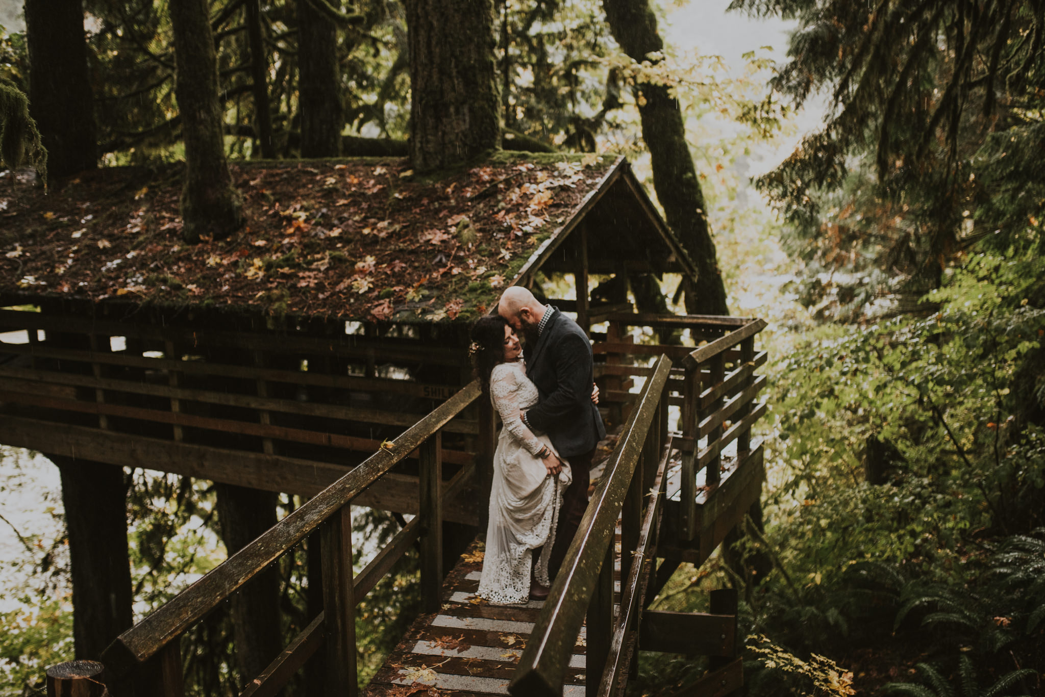 Oregon Camp Wedding