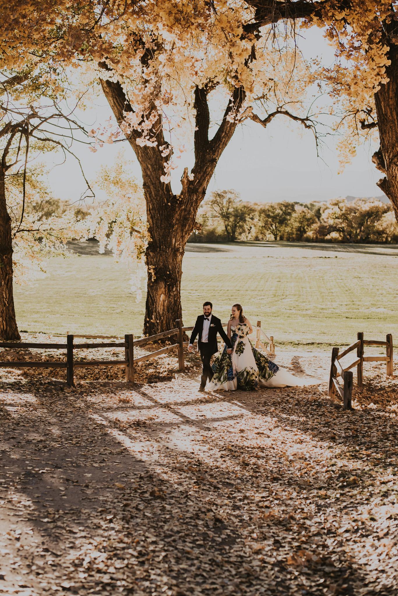 La Mesita Ranch wedding
