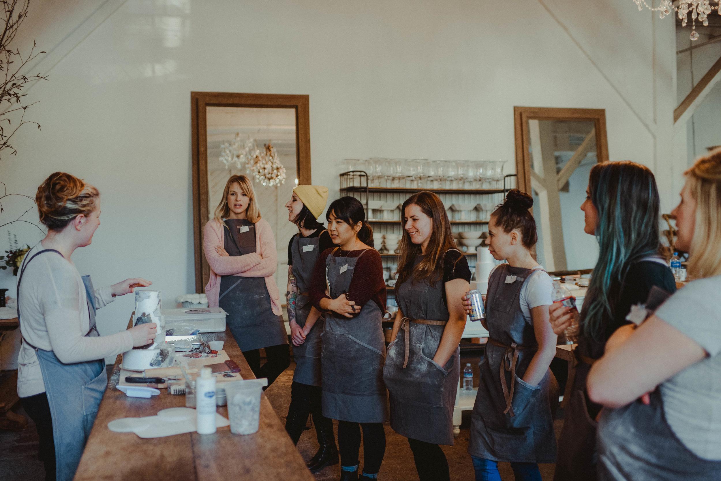 Jasmine Rae Cakes Workshop - Seattle