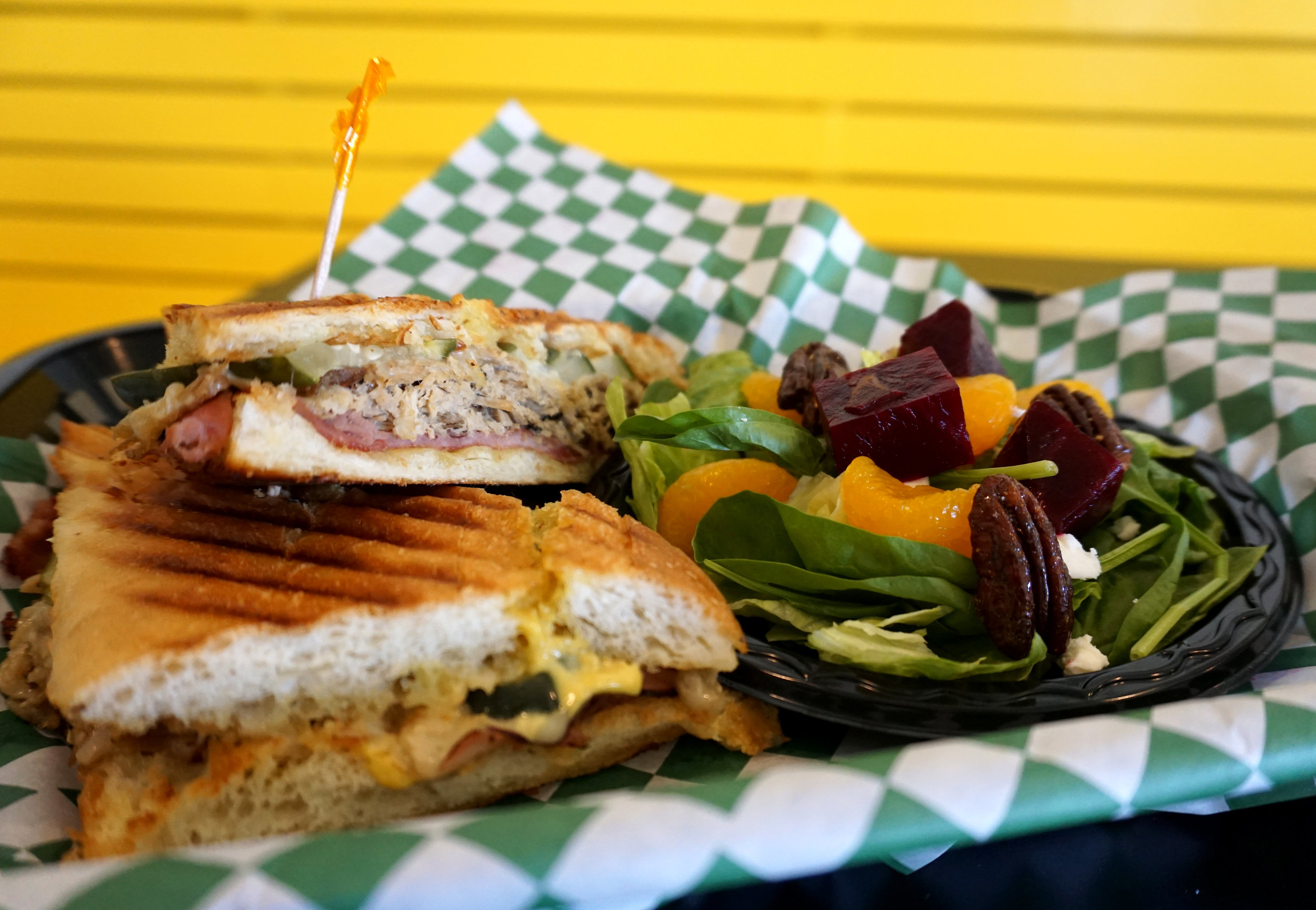 Gourmet sandwiches, salads, specialties and more...