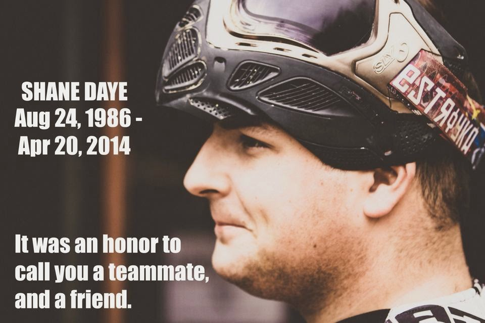 Tribute to Shane Daye