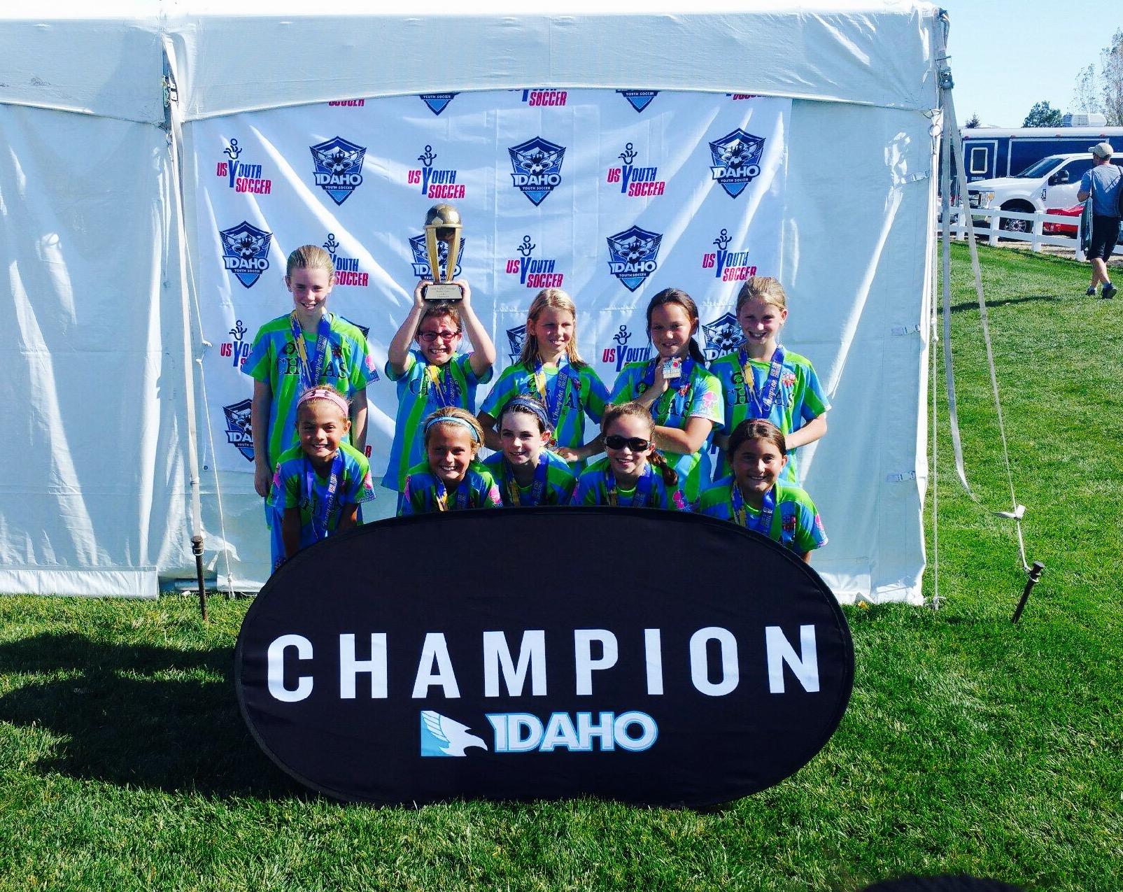 U11 Chicas Lime - Champions