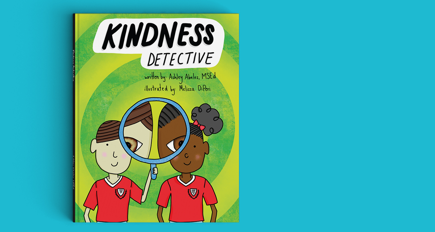"Kindness Detective - Creative direction and illustrationJoin Owen and his friends as they learn how to step into each other's shoes and ""see things a little differently"". Written by Ashley Abeles, MSEd with illustrations by Melissa DiPeri, this charming book is a wonderful way to teach young learners about understanding and empathy. Readers will discover that despite our differences, we all have a little kindness to lend!"