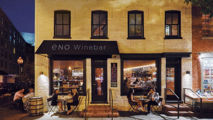 Solo acoustic show at ENO Winebar in Georgetown, Washington, DC.
