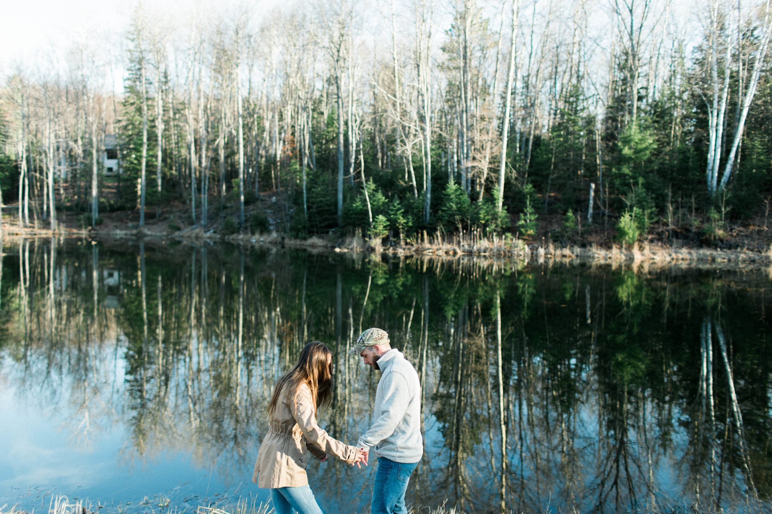 Horse Farm Engagment - Sabrina Leigh Studios - Northern Michigan Wedding Photographer 32.jpg