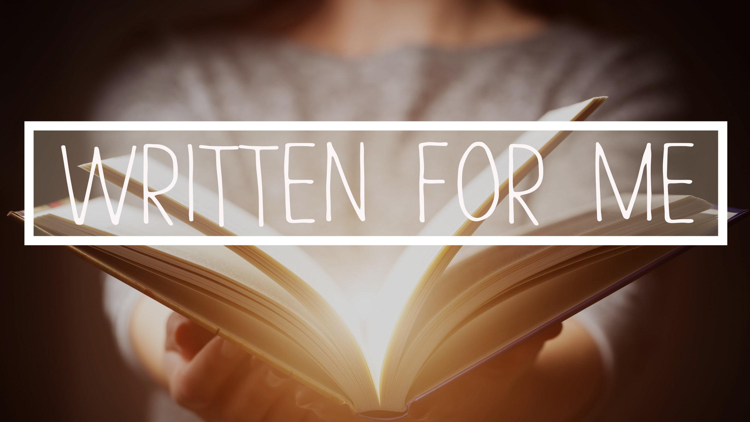 Written For Me