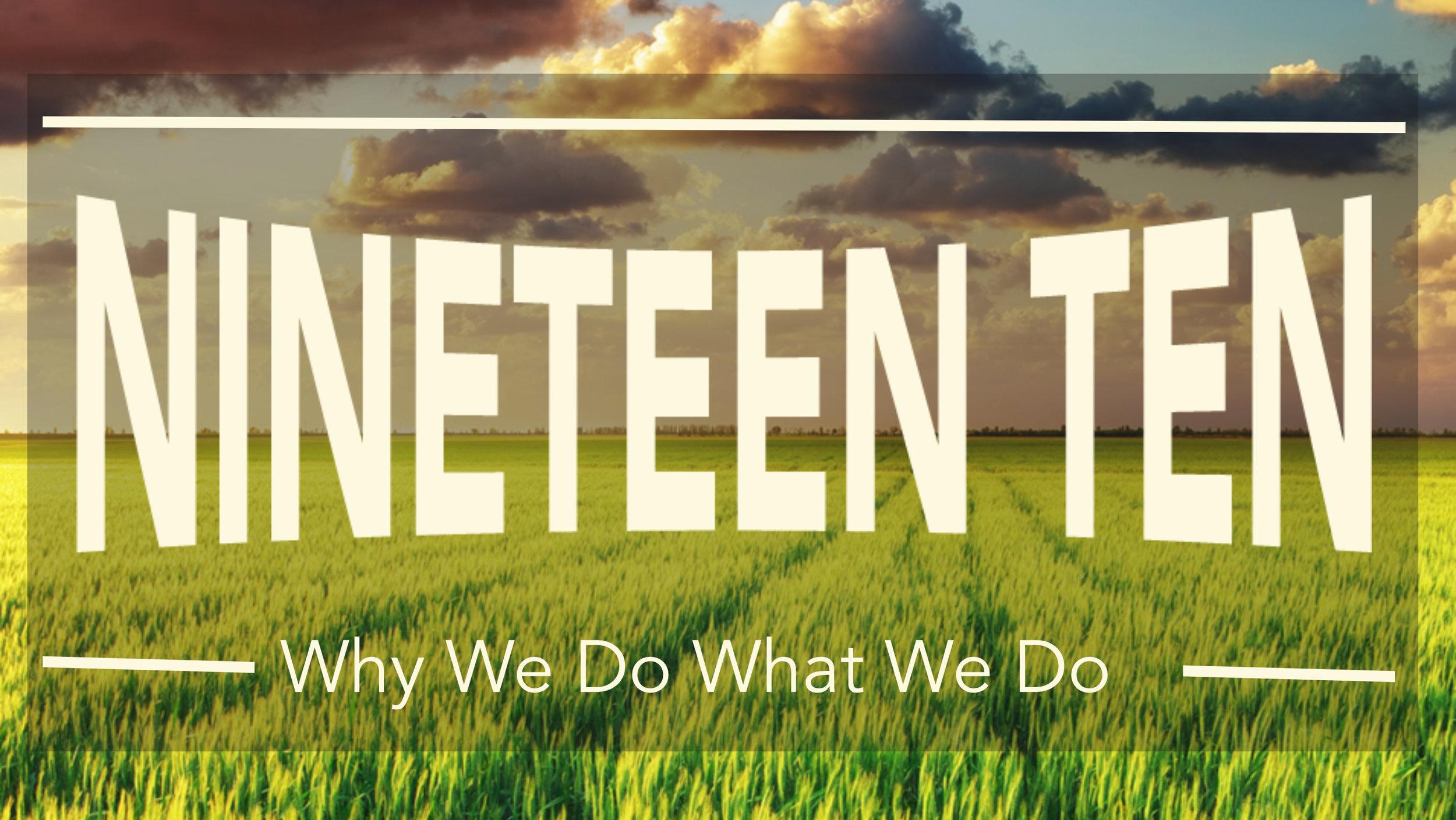 Nineteen Ten