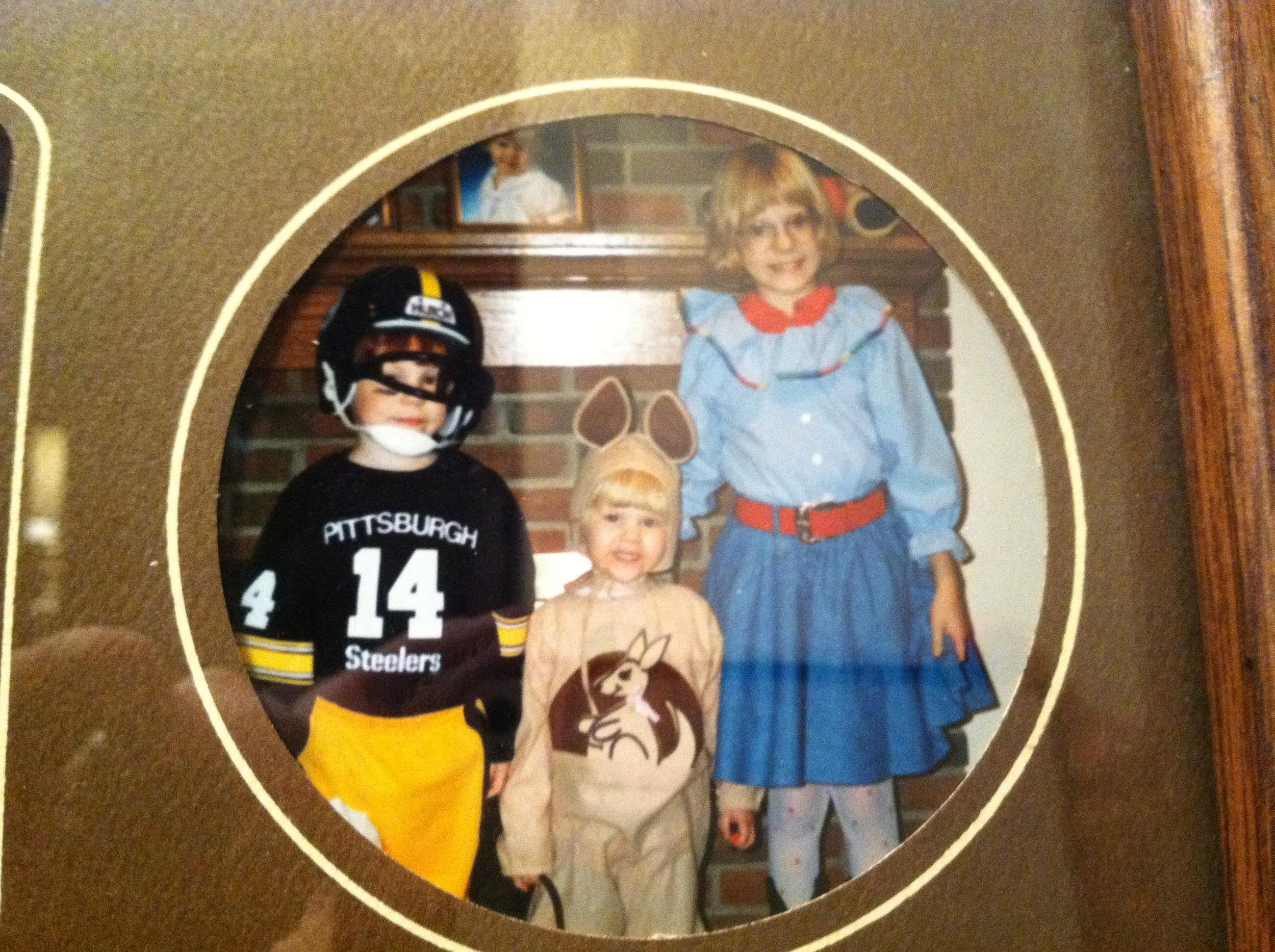 Halloween in the 90s.