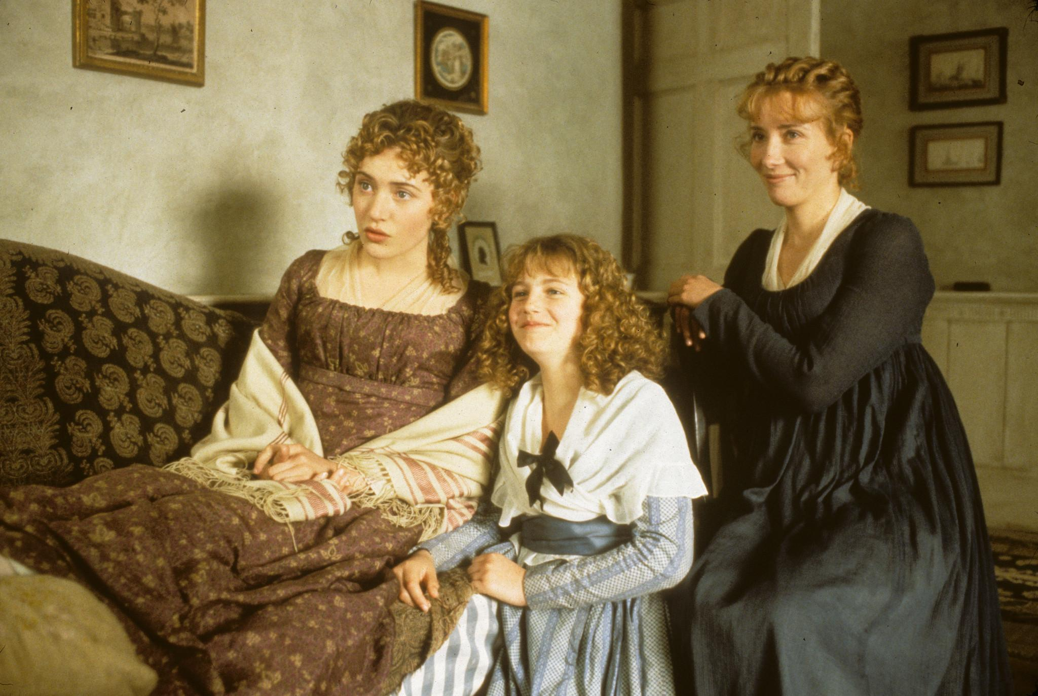 Marianne, Margaret, and Elinor Dashwood