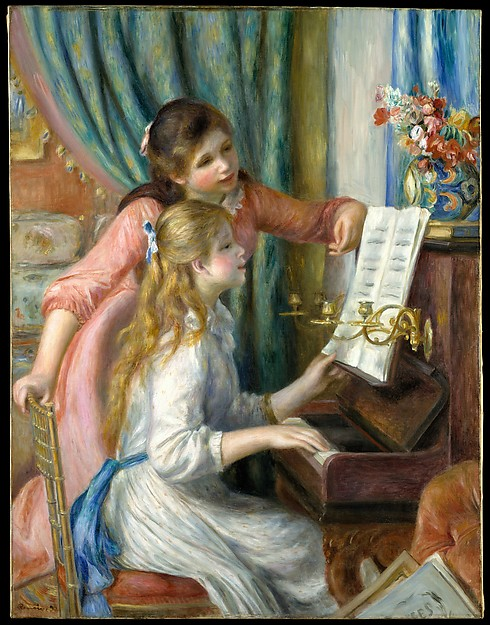 Renoir, Two Young Girls at the Piano