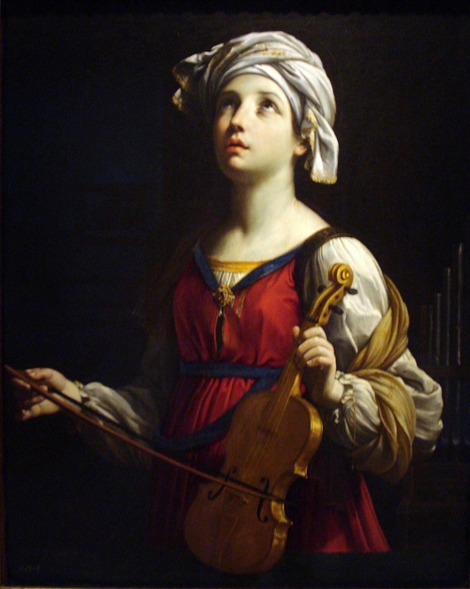 Guido Reni,  St. Cecilia