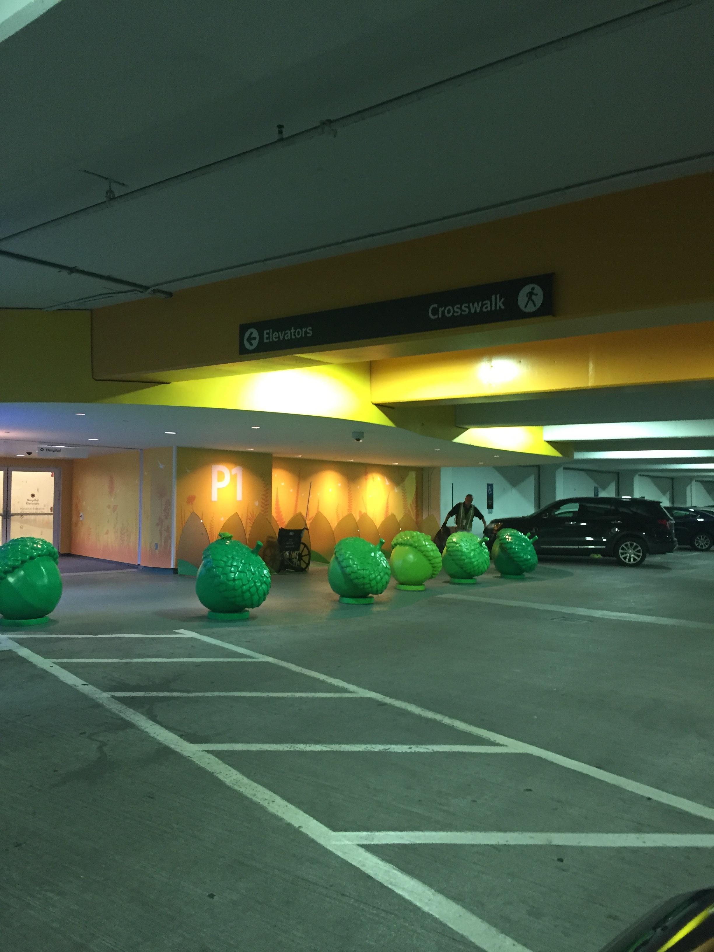 Excellent parking!
