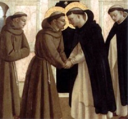 St. Francis and St. Dominic, Fra Angelico