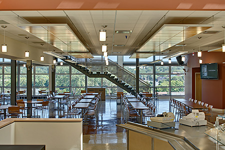 Bergen Academy Cafeteria -