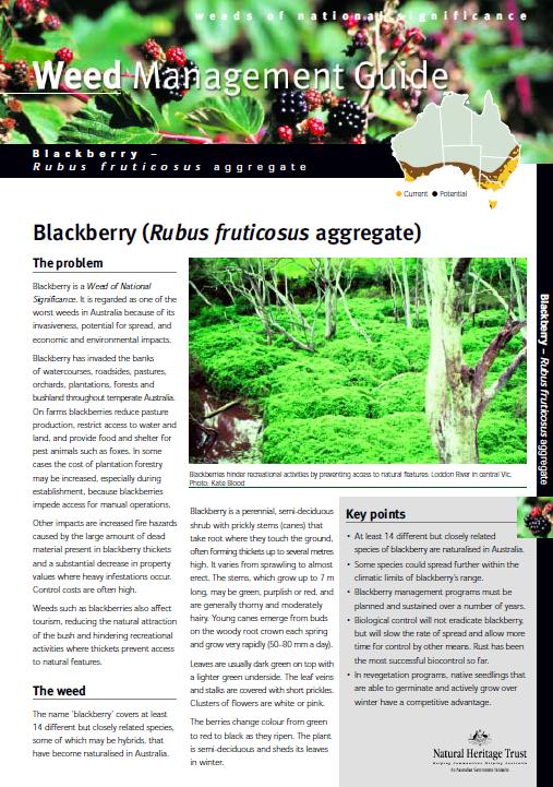 Fact Sheets Pests — Lower blackwood Landcare