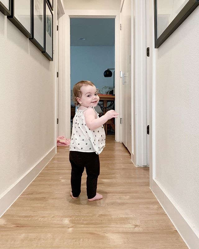 May is a very busy month in our family. My dad's birthday was Saturday, Mother's Day was Sunday, my birthday is today. And frankly Olivia was feeling a little left out. Swipe ⬅️ to see the greatest birthday gift! But also I just see her walking out the door to college 💔 #yourmodernbaby