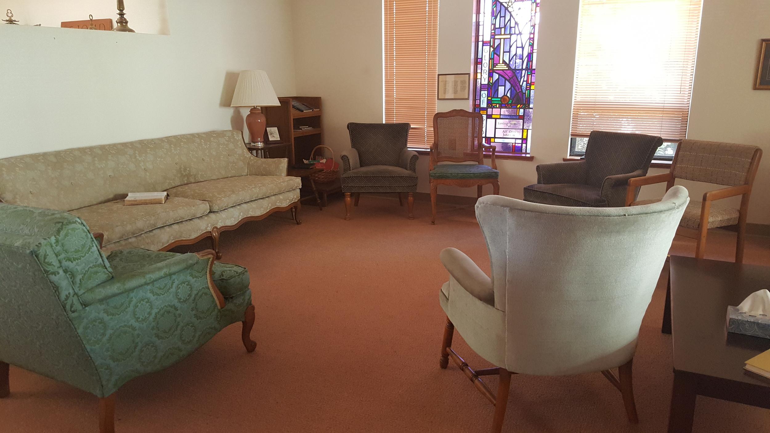 All Saints Guild room