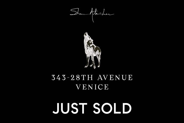 A strong collaboration comes to a successful close..Congrats to my great clients & dear friends 🙏🏼👏🏼🍾😎 • • • • • #losangeles #realestate #venice #beach #luxury #home