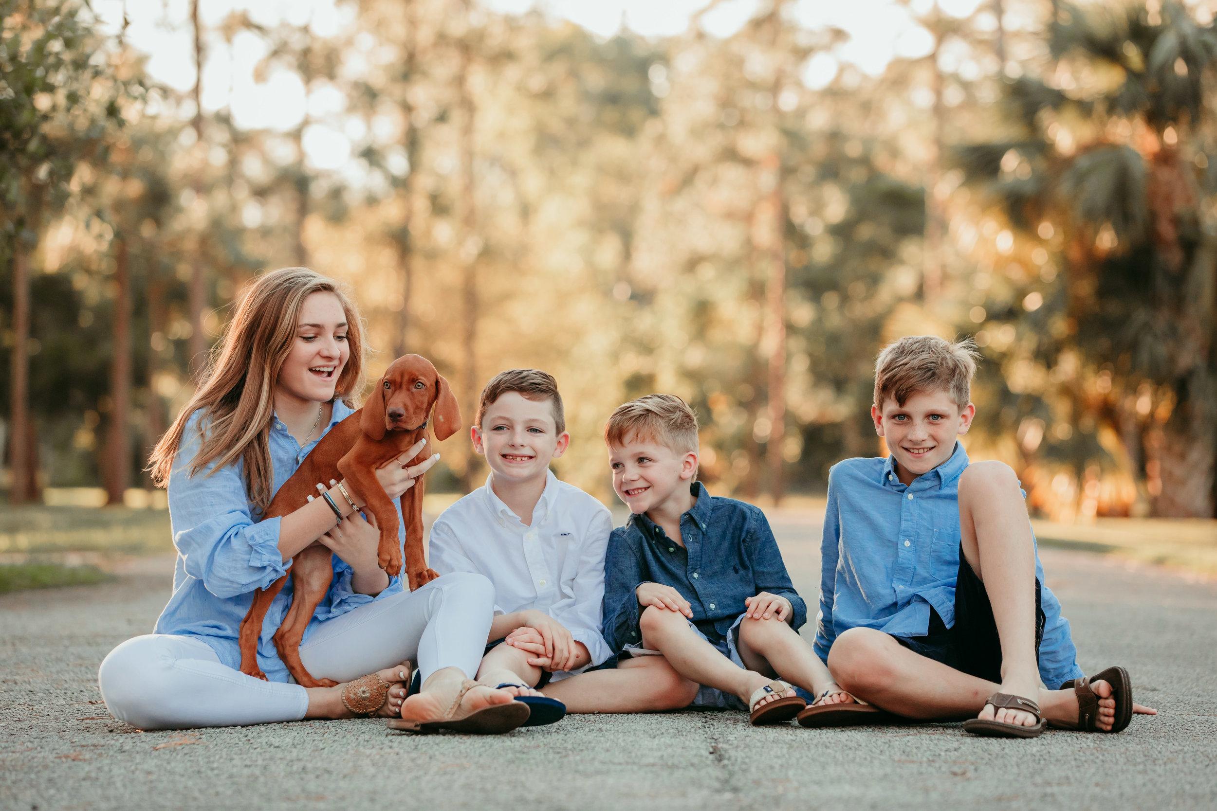 Jupiter Family Pet Photography
