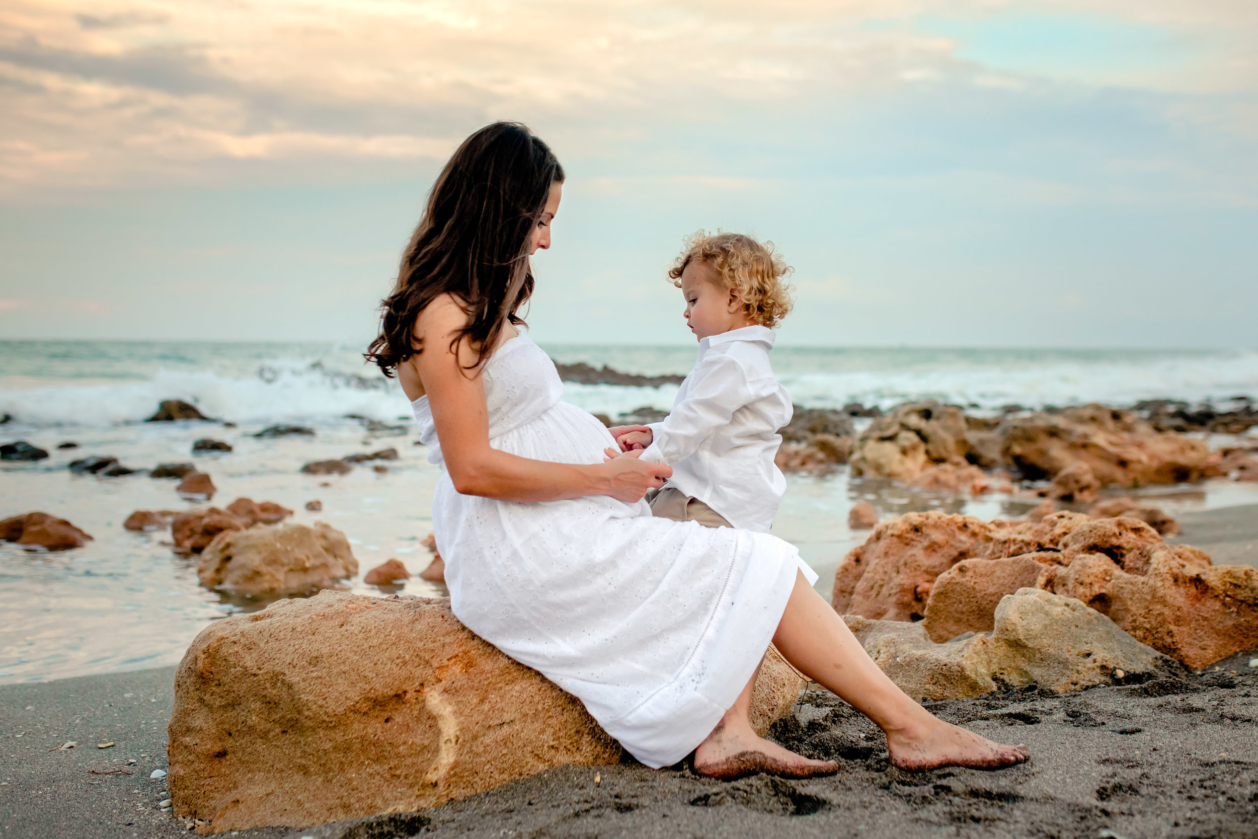 Coral Cove Maternity Shoot