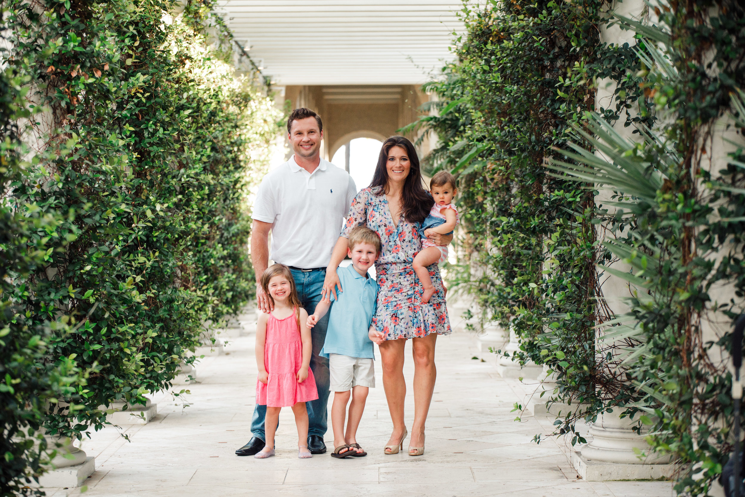 The Breakers Palm Beach Family Photography