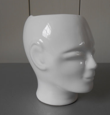 ETSY: Small  Vintage Ceramic Head  $19.50