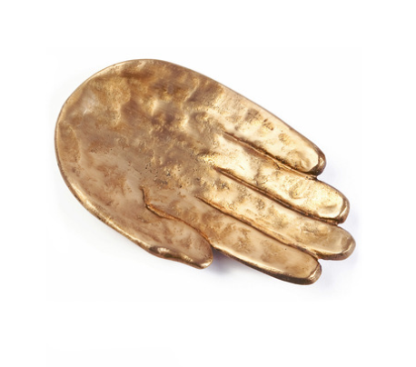 Kelly Wearstler  Bronze Palm Dish  $395