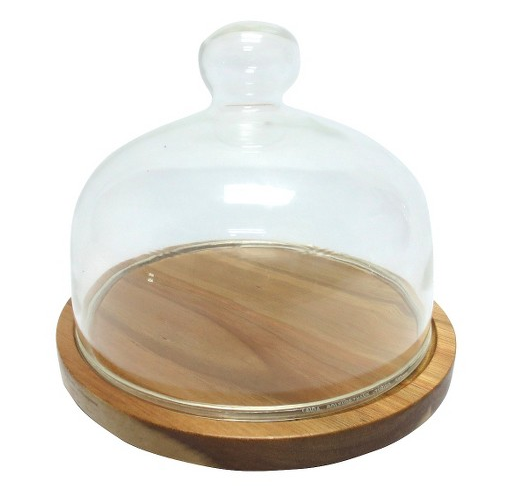 Threshold  Glass Cheese Dome  $19.99 Traditionally a cheese platter, you could also take the glass top of this and put it over a small succulent.