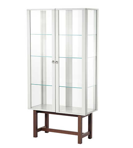 Glass-door Cabinet  $429