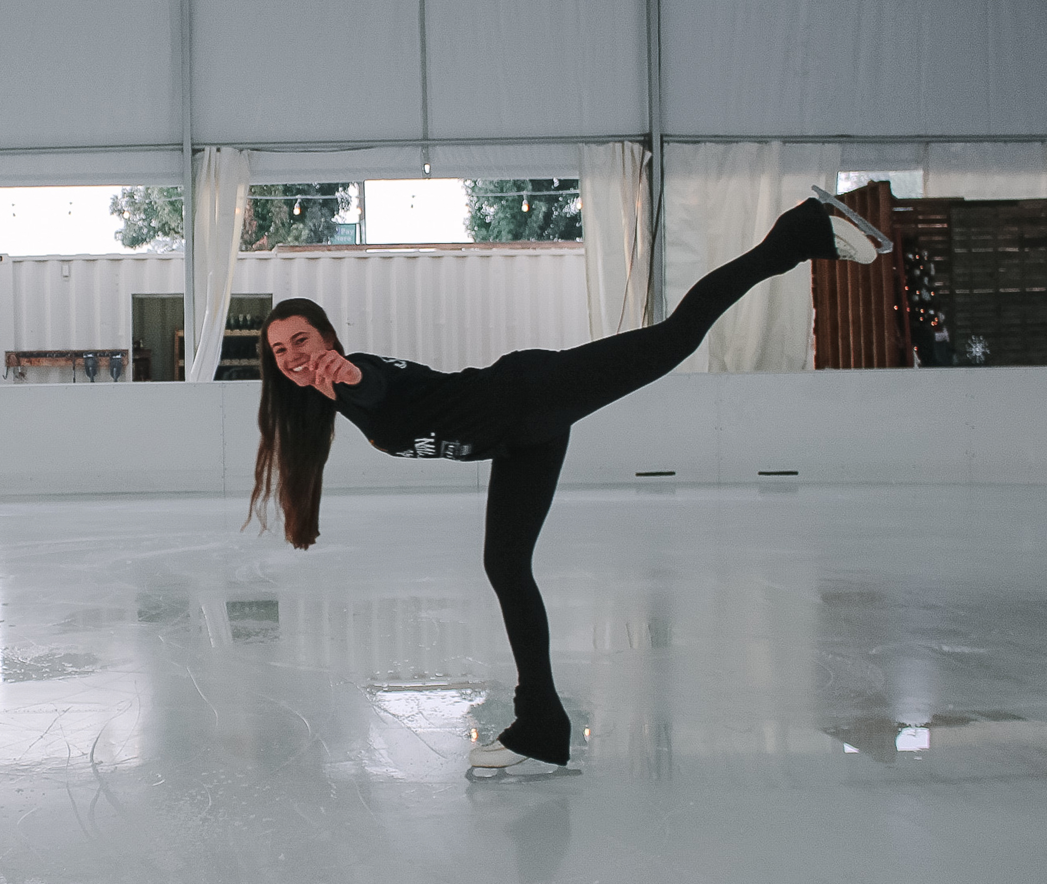 Addy - I've been ice-skating since I was 10 but never really got into it until my parents opened up Modesto On Ice four years ago. They bought me my first pair of figure skates for Christmas the first year we opened. It's a hobby I really enjoy doing with my younger sisters. I am a person that enjoys being active and being outdoors. My favorite hobbies include ice skating, CrossFit, boating, hiking, and four wheeling.