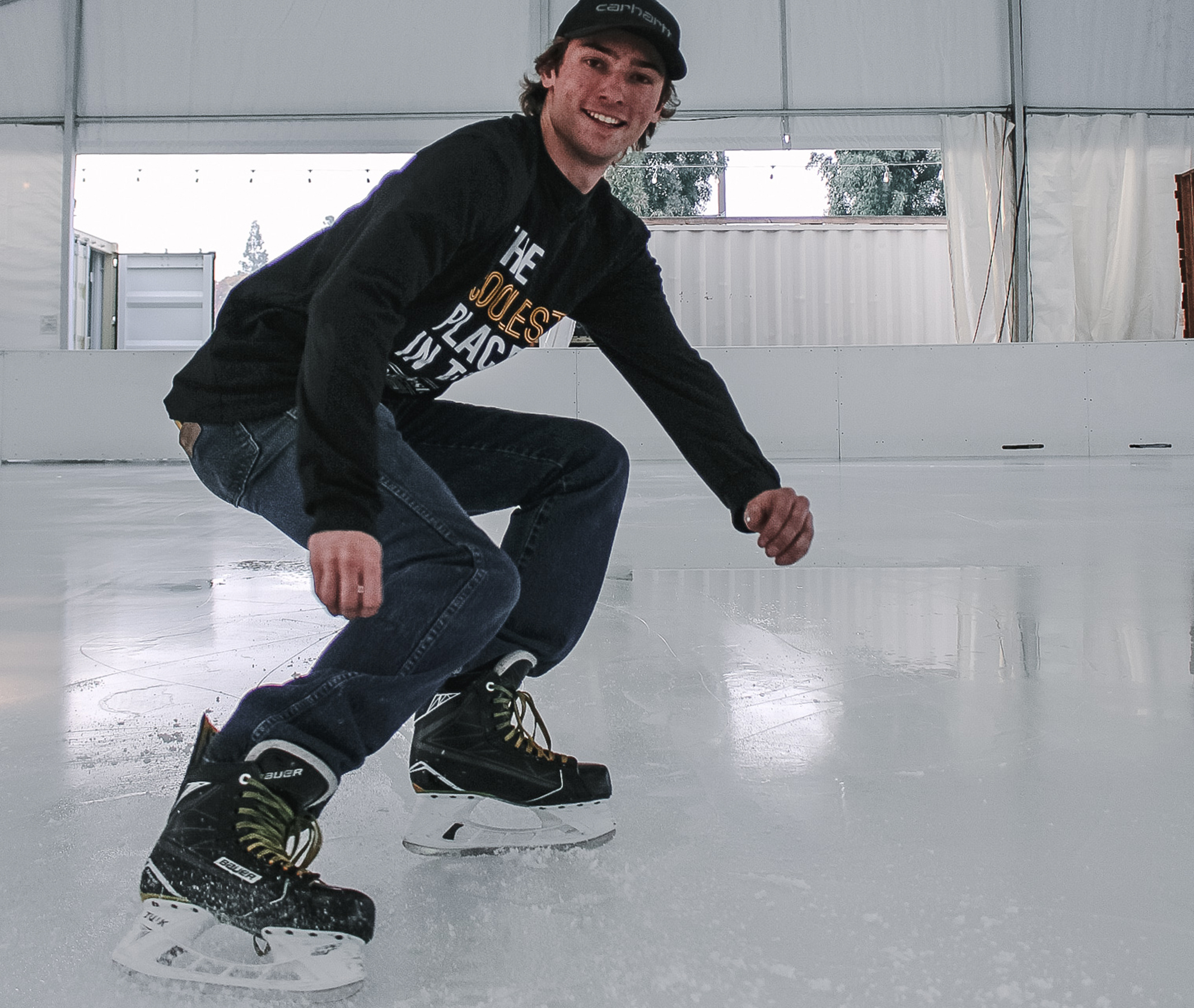 Brandon - On my fourth year with Modesto on ice been skating for 4 years and playing hockey for about 3 years. I enjoy helping people learn to skate and seeing how much fun people can have. I want skaters to find confidence in their abilities and develop their skills.