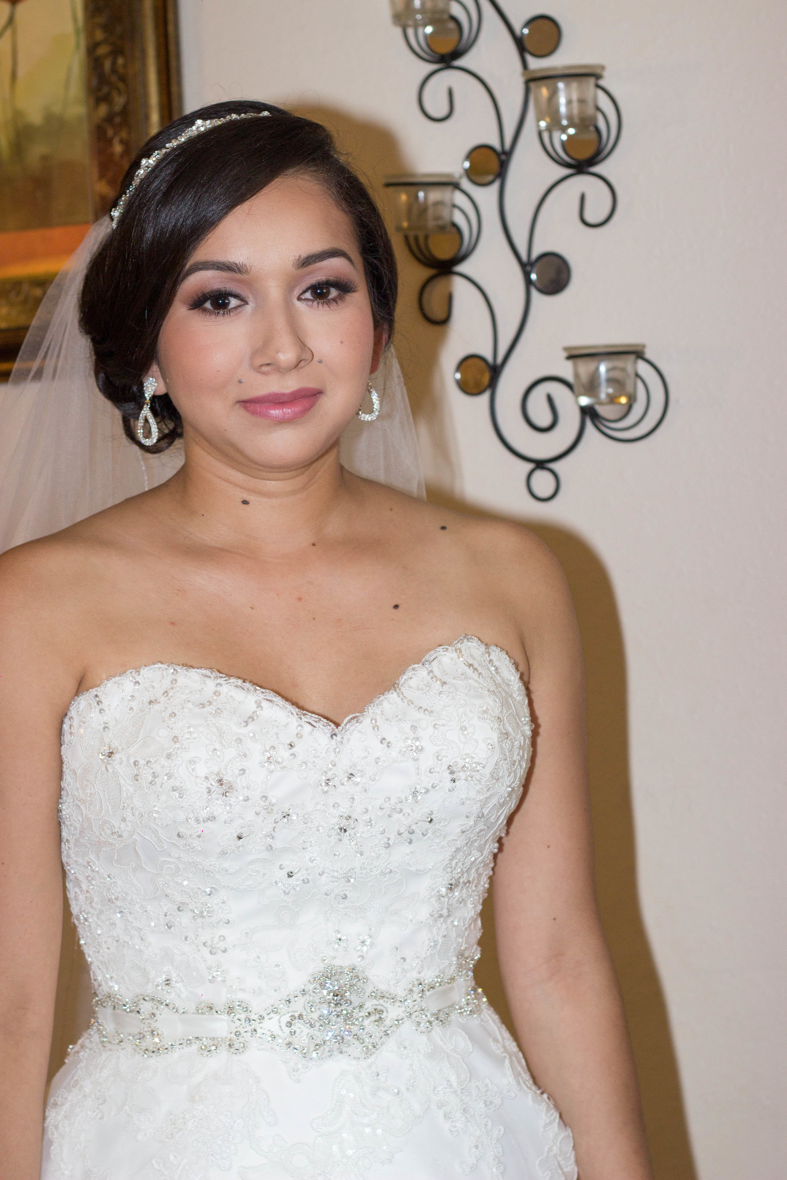 Soft bridal glam - orange county, san diego, los angeles makeup artist