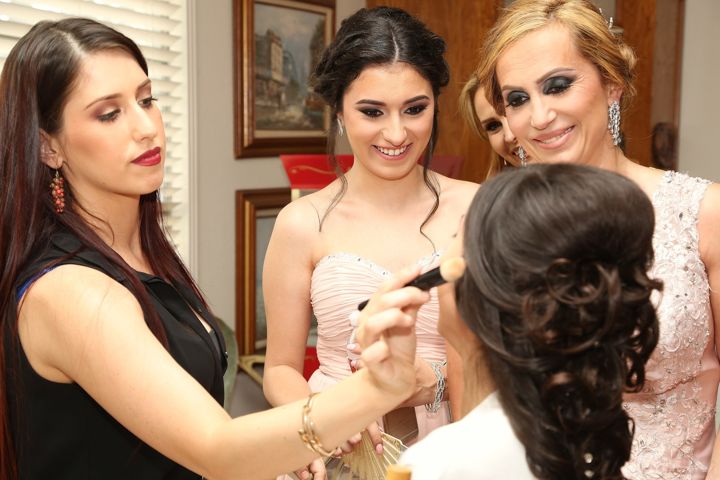 Orange county wedding makeup artist