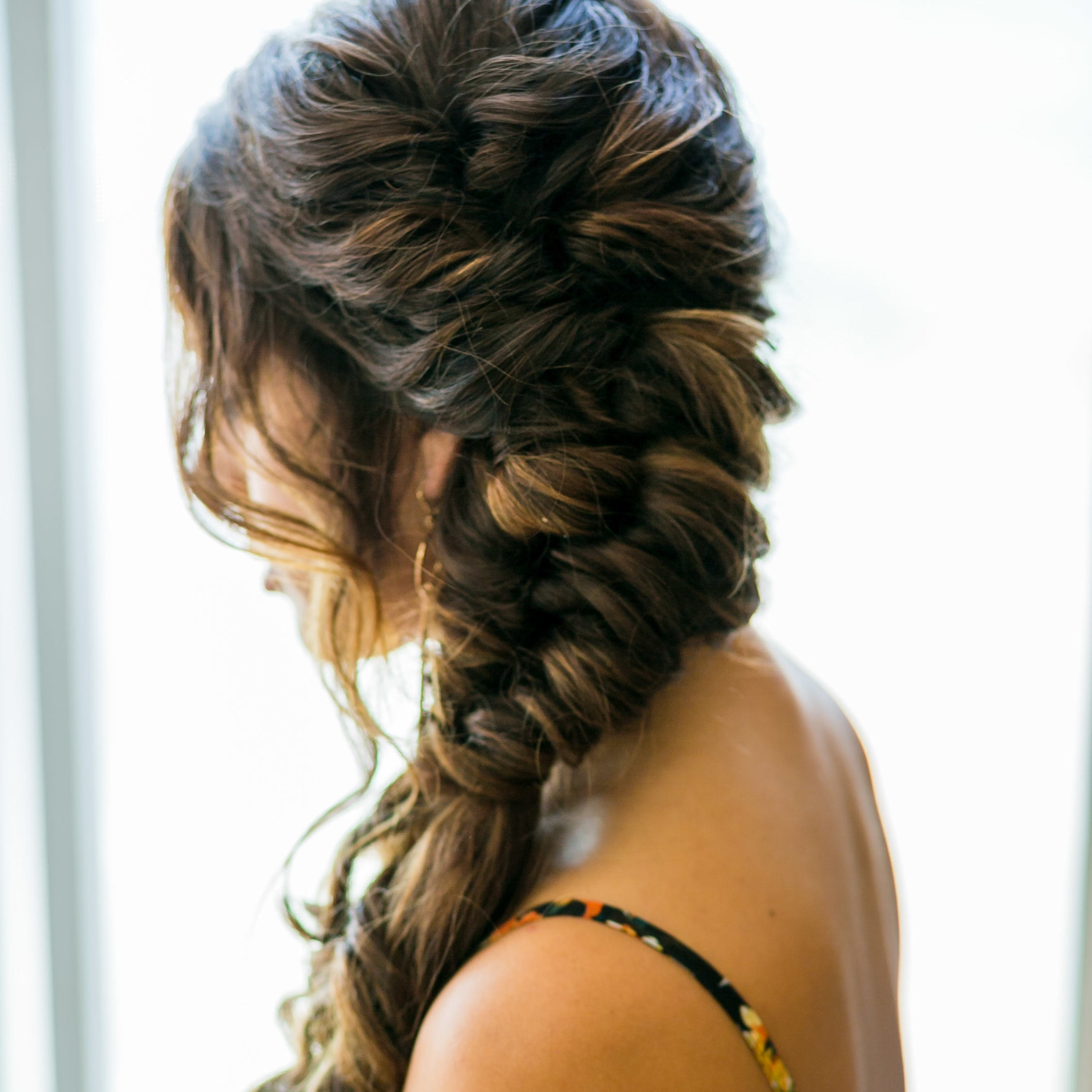 Orange county bridal hair stylist   Braided hair style ideas