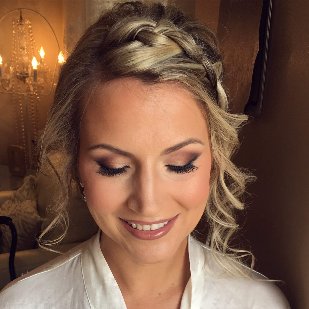 Bride smokey eye