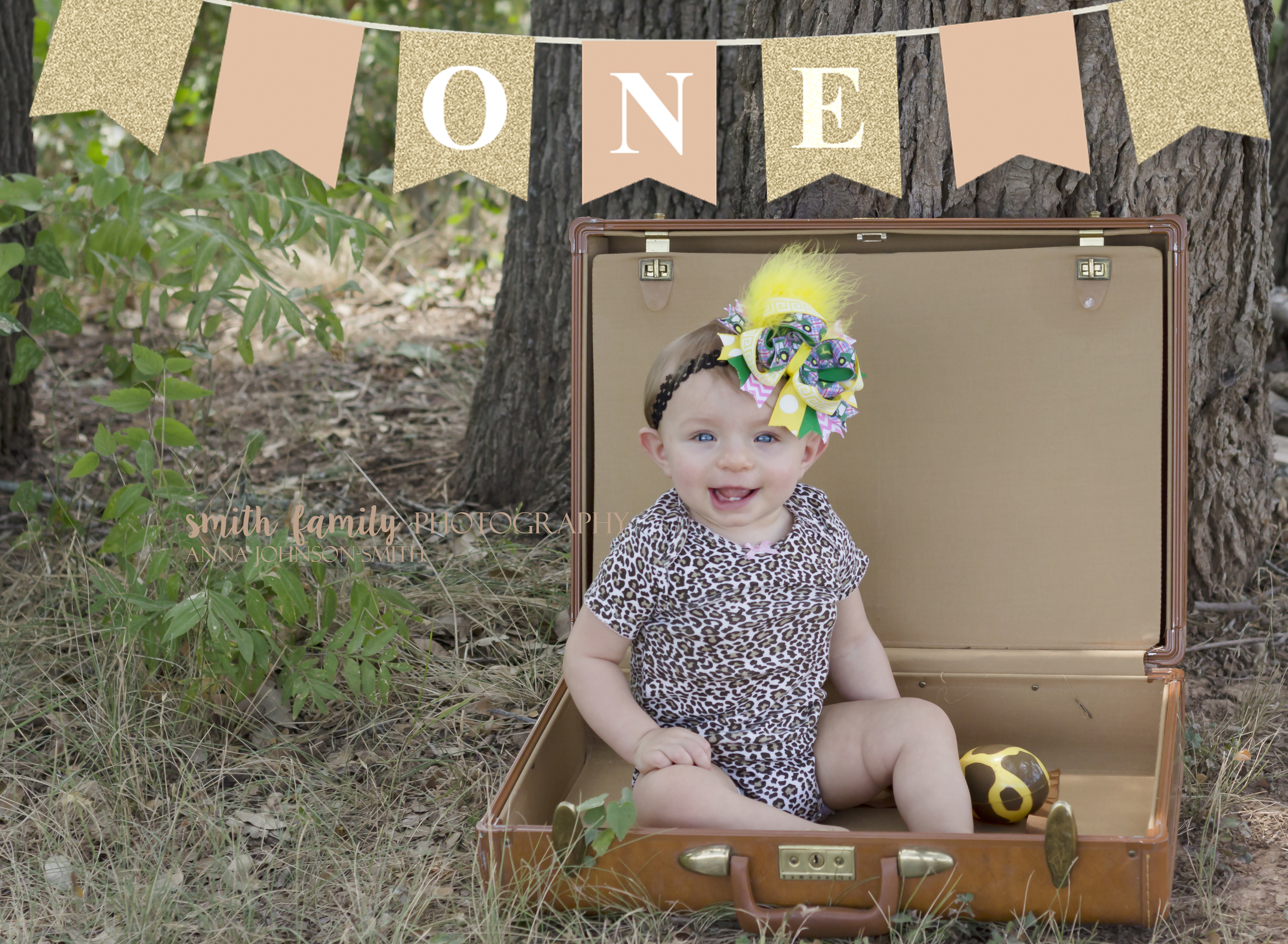 Sweet Kadence sitting so pretty for one of her one year session poses!