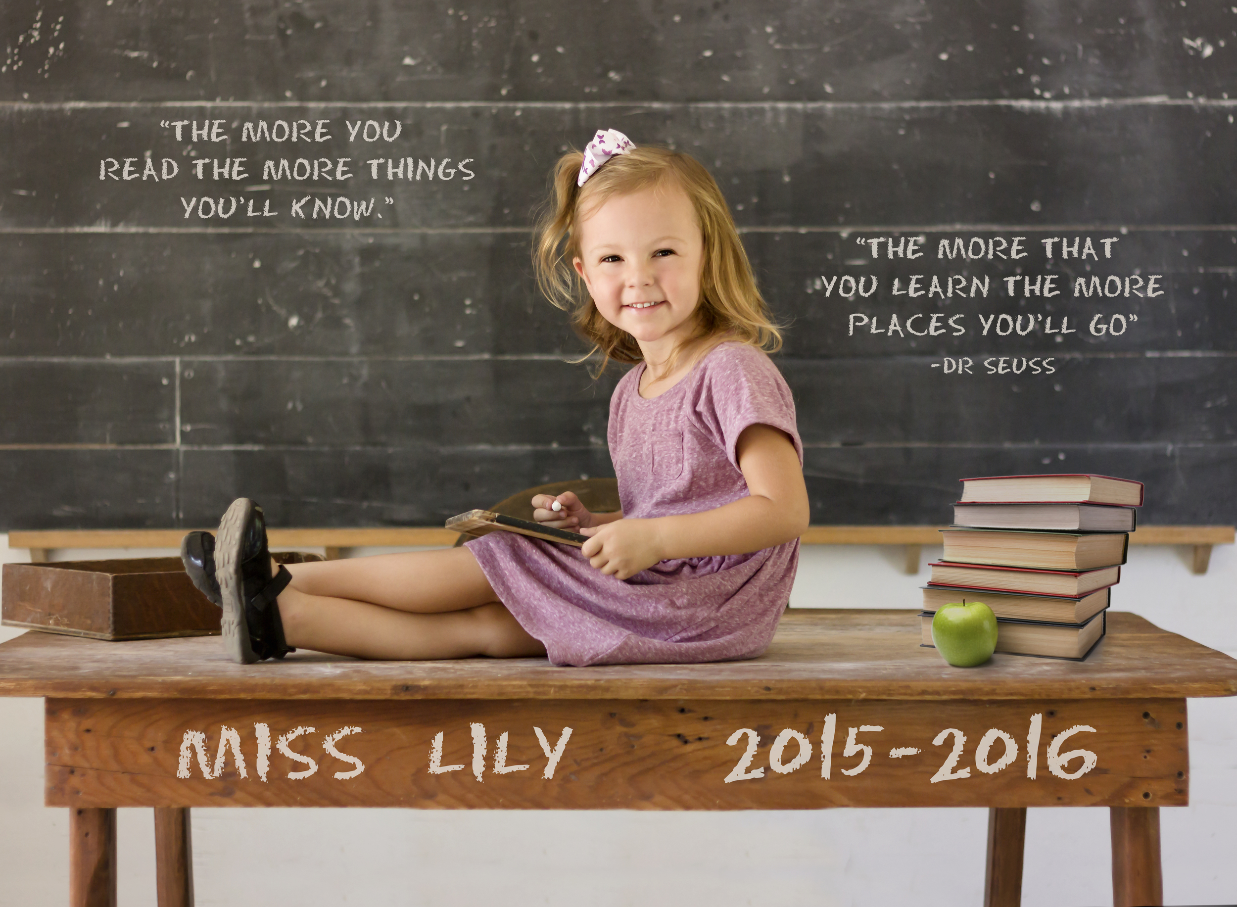 This is my daughter, Lily.  She started preschool this year.