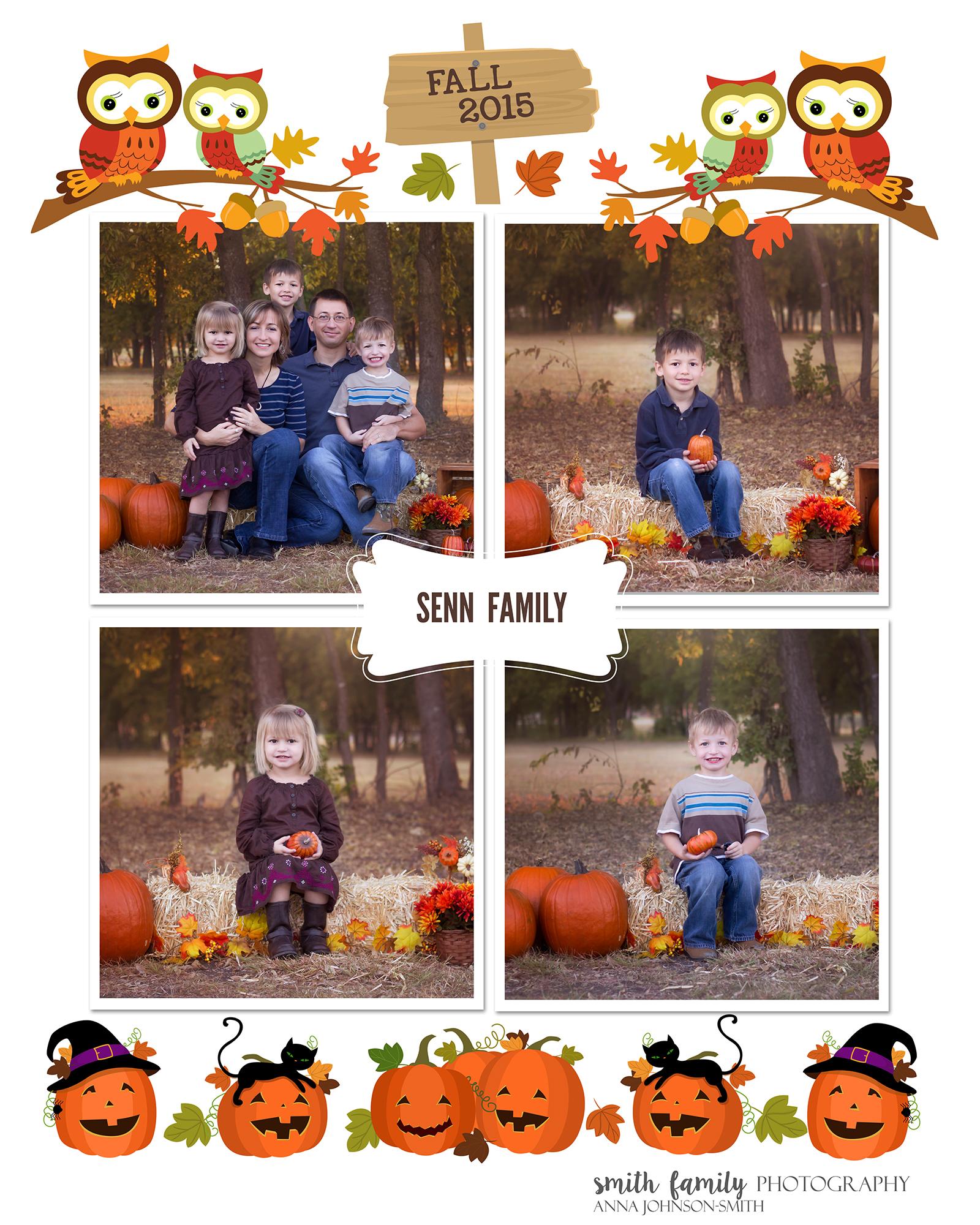 Senn Family Collage