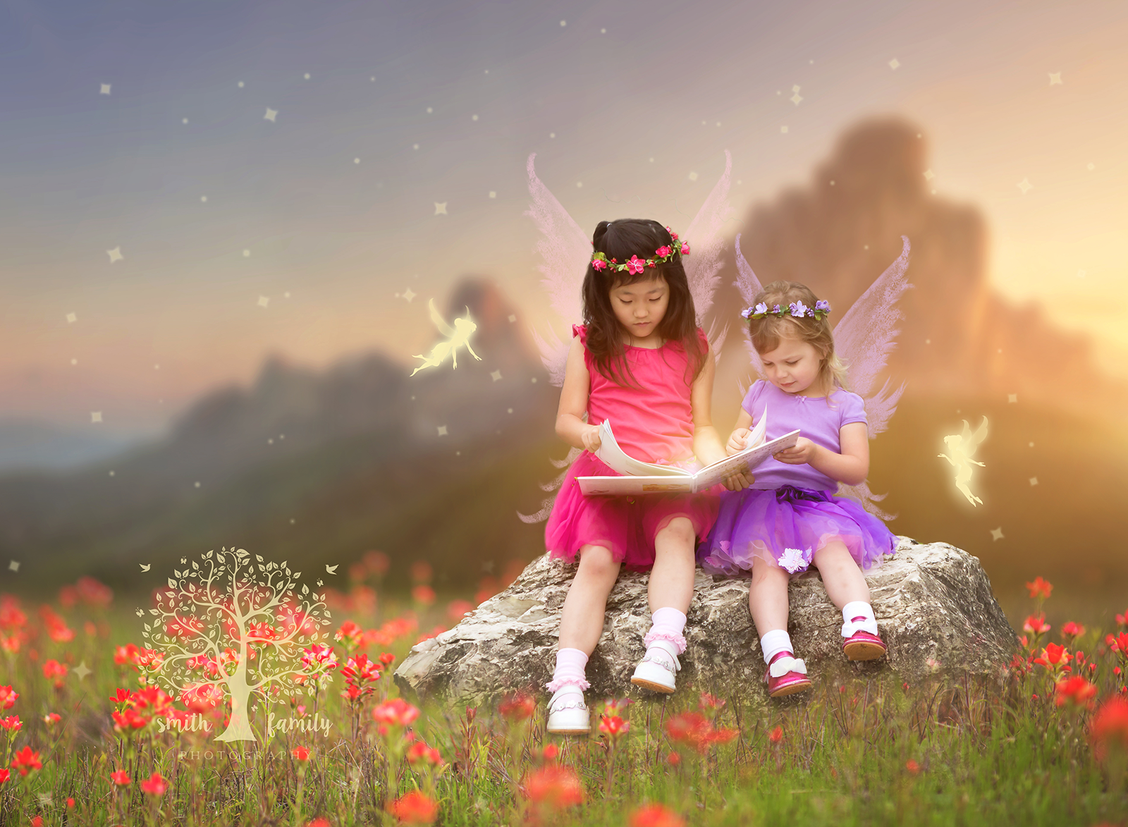 Fairy Imagination Session with Sisters
