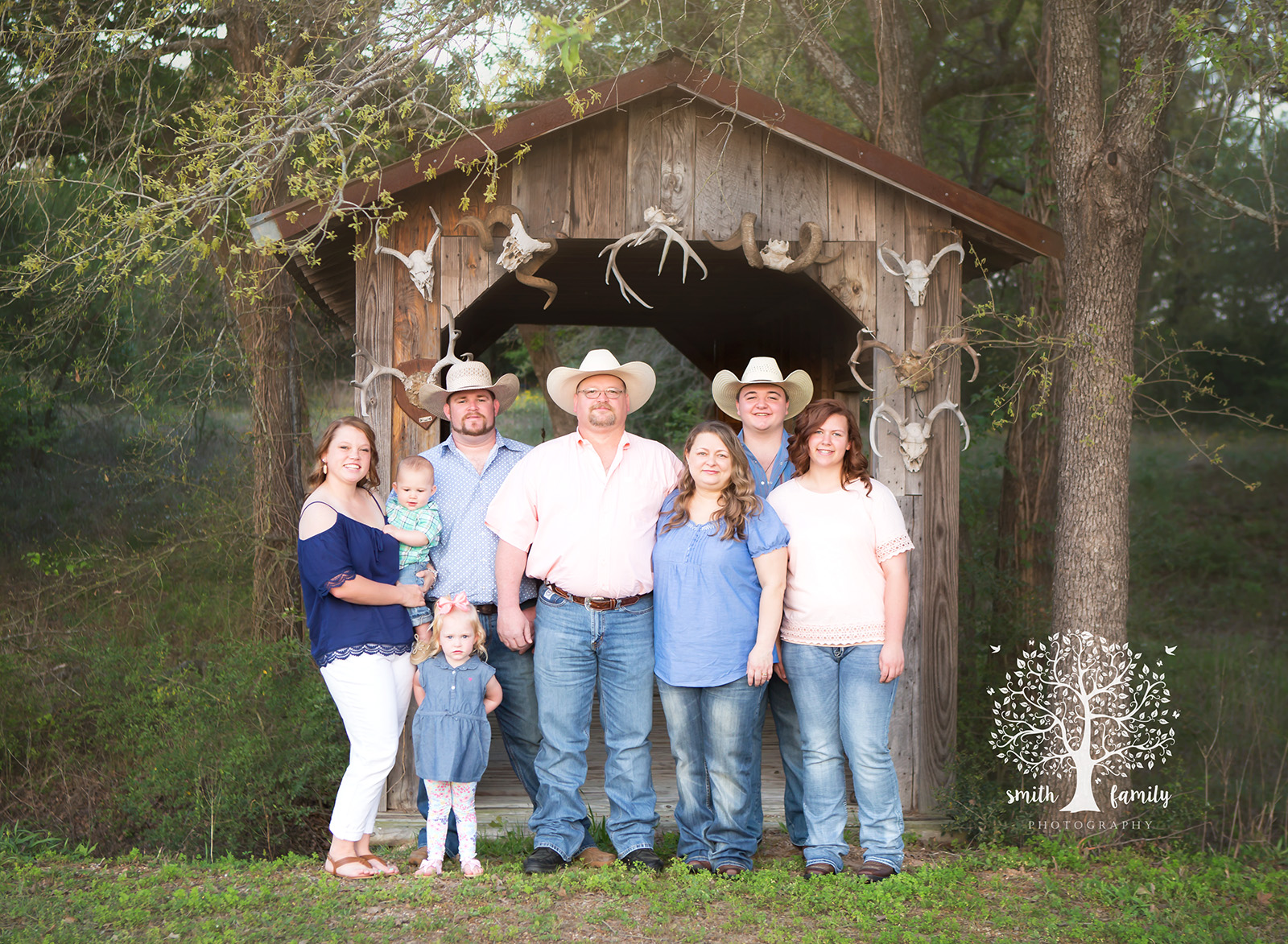 Higgins Family large family session.