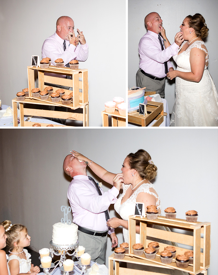 I absolutely LOVED the cake images!  These images sum up their relationship perfectly!  Always having fun and laughing.