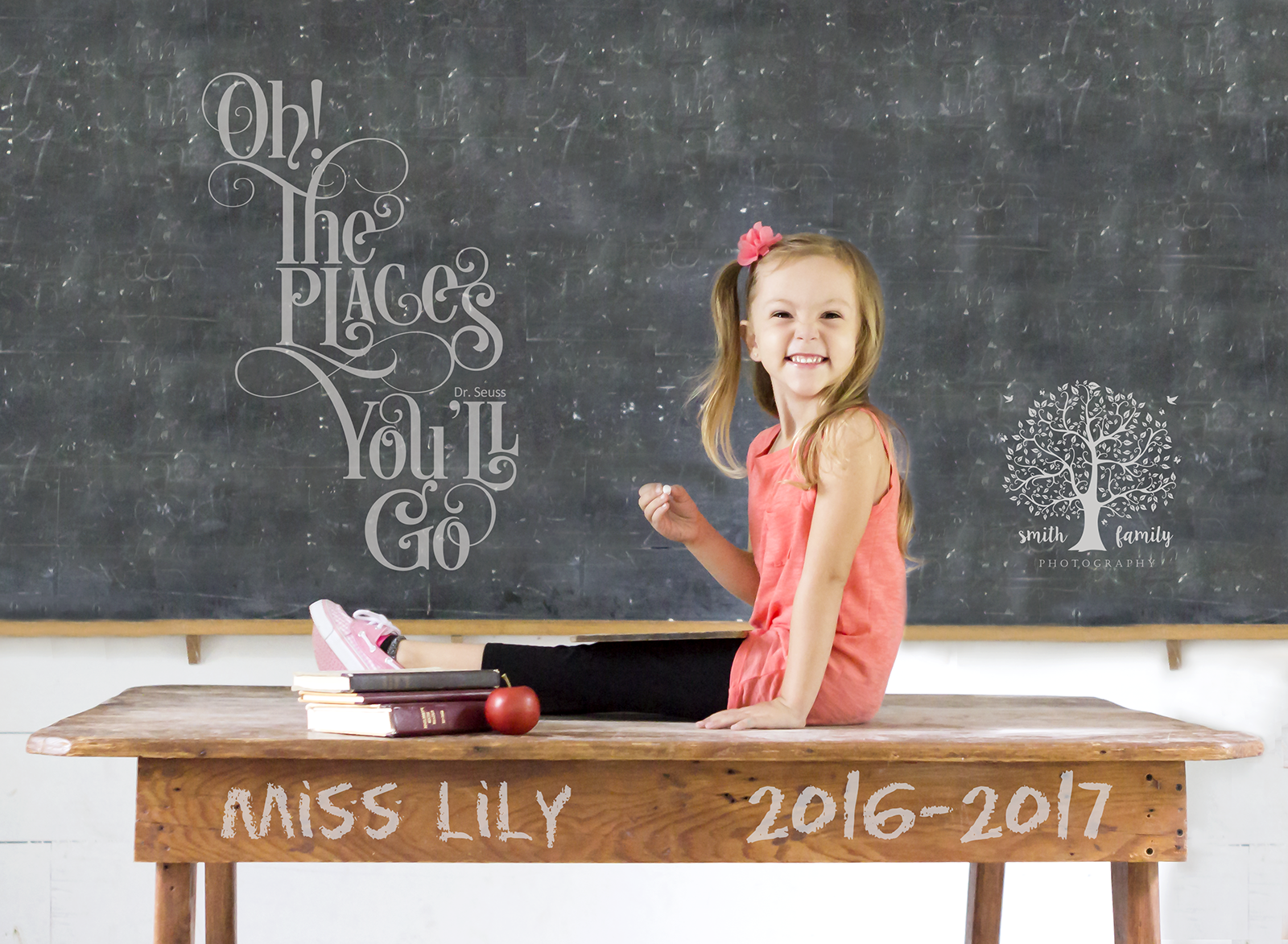 Lily - 4 years old.  First day of Pre-K 4