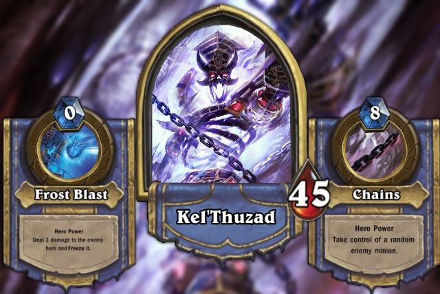Kel'Thuzad certainly expects you to create a unique deck just for him. He's just not taking any second hand deck.