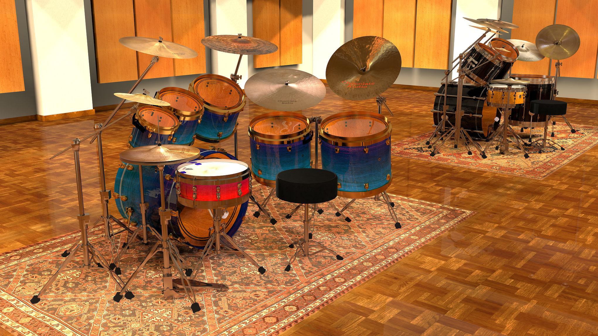 Modern Retro Drums for Kontakt — Chocolate Audio