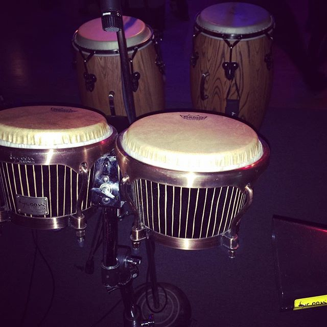 Conga y bongo!!! I love drumming with @rcarrido73 hermanos de @tycoonpercussion!!! #nosotrosmusic #tycoonpercussion